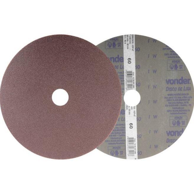 Disco de Lixa 7,  Grão 60 Vdf - Vonder