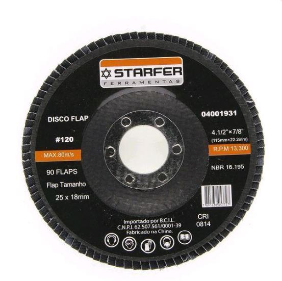 DISCO FLAP 4.1/2  120 - STARFER