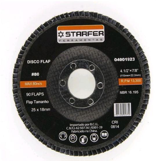 DISCO FLAP 4.1/2  80 - STARFER