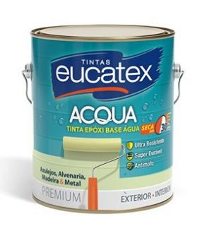 EUCATEX EPOXI BASE AGUA BRANCO 3,6L