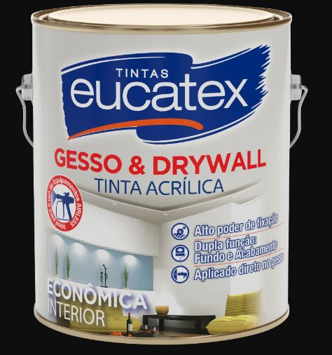 EUCATEX GESSO E DRYWALL 3.6L