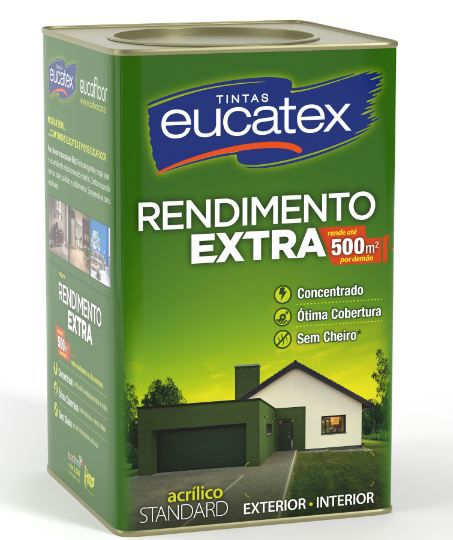 EUCATEX RENDIMENTO EXTRA CHOCOLATE 18L