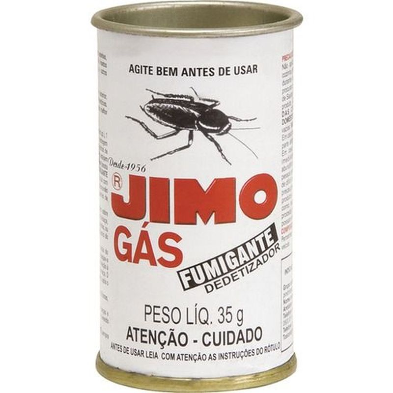 Jimo gás fumigante - 35 gramas, Dedetizador