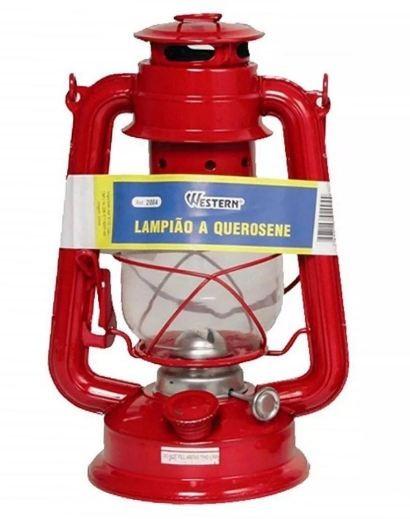 LAMPIÃO À QUEROSENE 300ML WESTERN