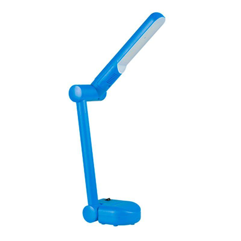 Luminária de Mesa - Gaya, Azul, Led, Articulada, Bivolt