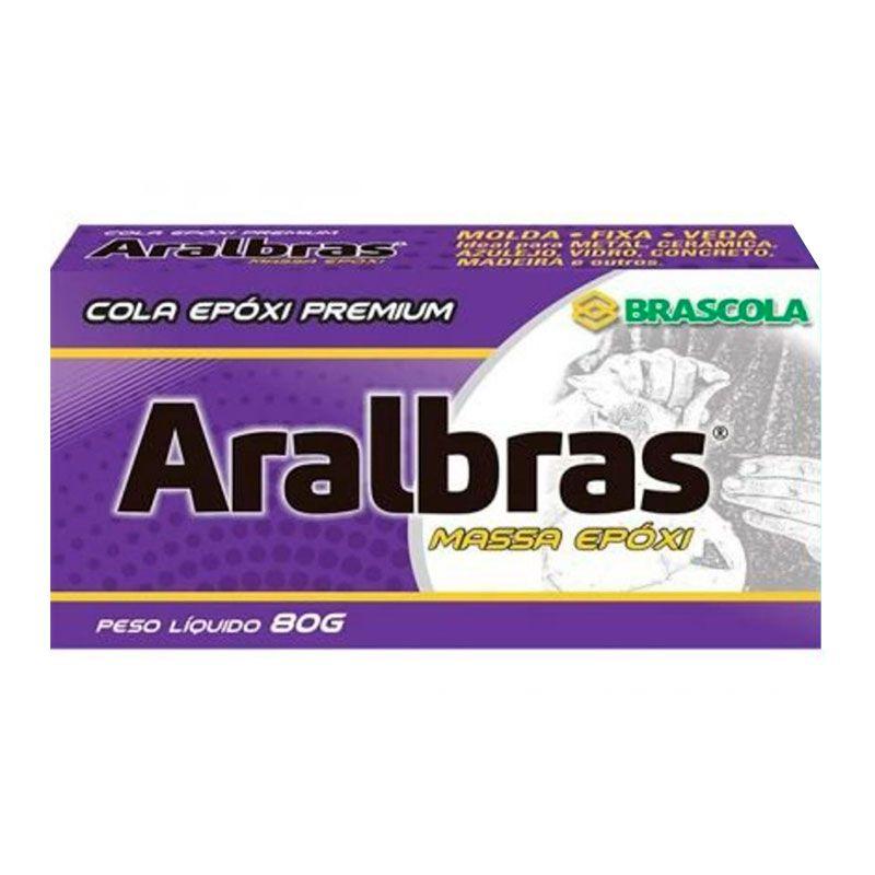 Massa Epóxi - Brascola, 80 gramas,