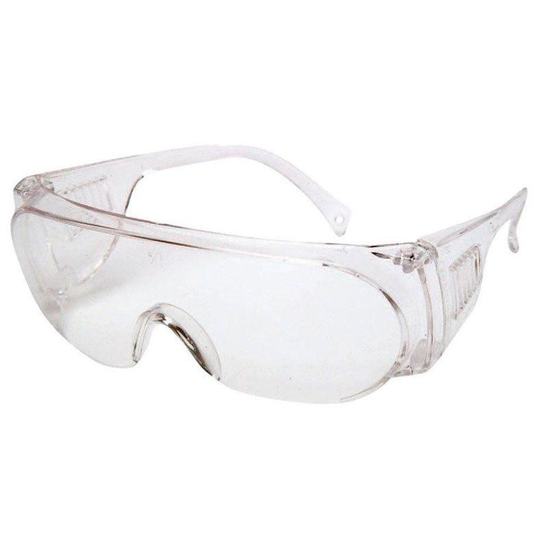 Óculos de Proteção - Panda, Transparente, Incolor, Kalipso