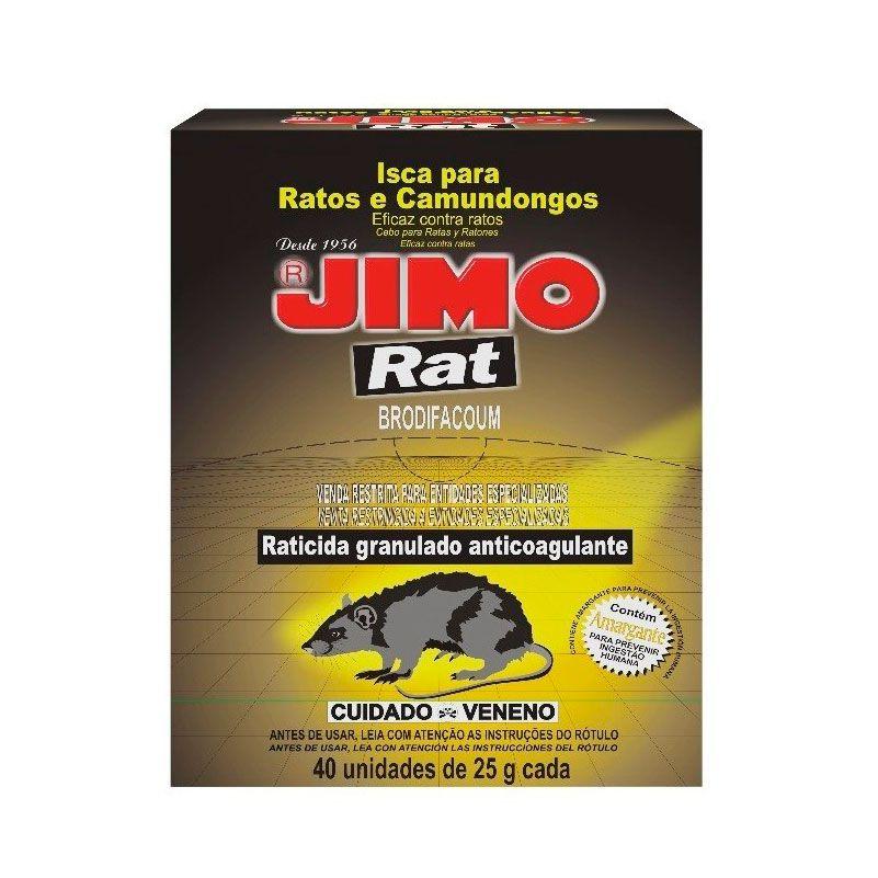 Raticida - 25 Gramas, Jimo, Granulado, Rat