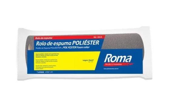 ROLO POLIESTER 23CM 430 ROMA - SEM CABO