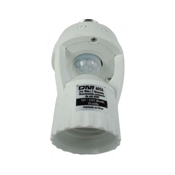 Sensor de Presença - Foto, Soquete, DNI