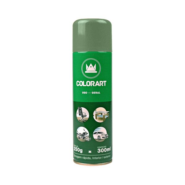 Tinta Spray - Cor Verde Raw, Colorart, Uso Geral