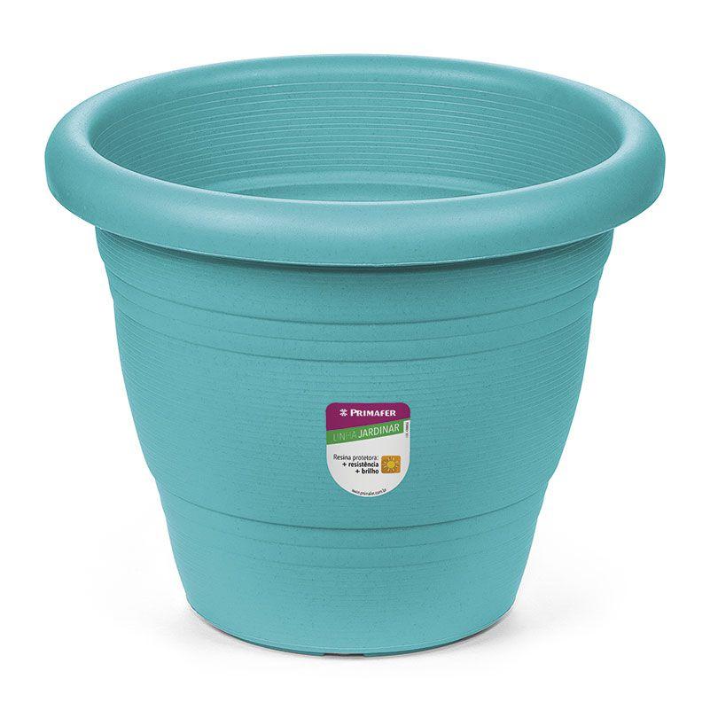 Vaso para Plantas - Plástico, Atlas, 17cm, Azul, Novo