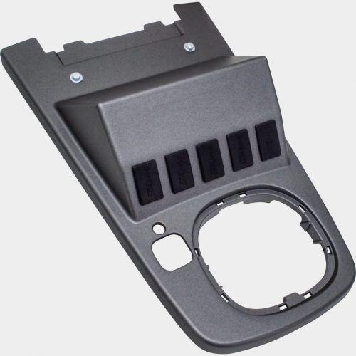 Console Central Radio Vhf Troller 2015 Plástico Injetado
