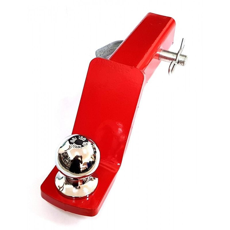 Engate Removivel 50mm c bola cromada e Rebaixo de 2 polegadas Universal