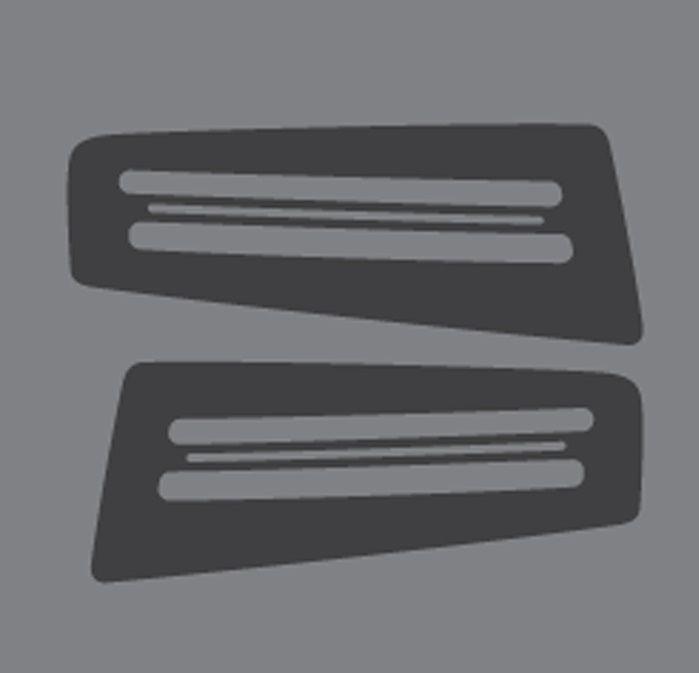 Adesivo da Lanterna de seta dianteira Troller 2015>