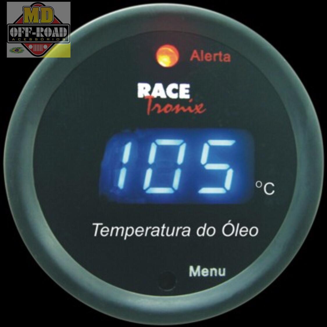 Temperatura do Óleo- Racetronix