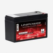Bateria Unipower Up1270seg 12v 7ah Nobreak/Seg