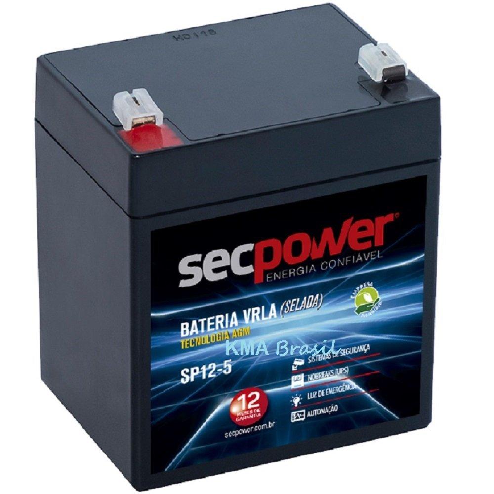 Bateria Selada 12v -5ah Secpower - Up1250