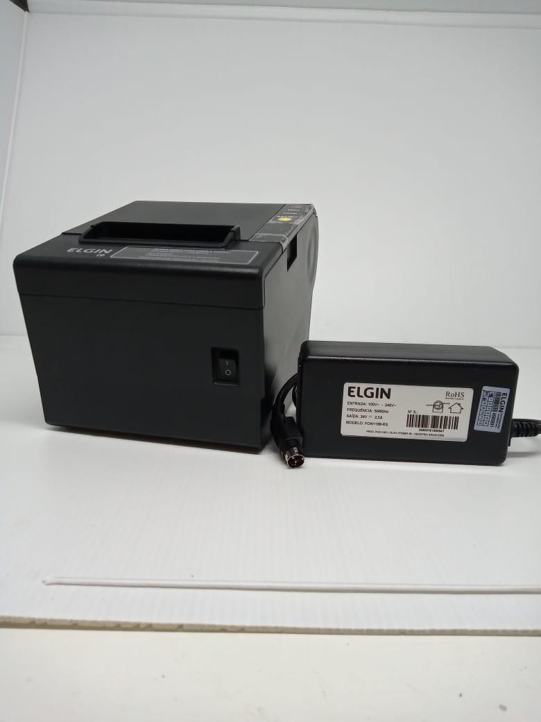 Impressora Térmica Elgin I9 Não Fiscal USB c/ guilhontina - Nova