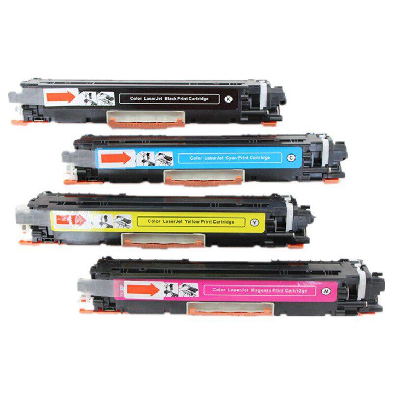Kit 4 Toners HP Laserjet Cp1025 M175 Ce310 311 312 313 126a