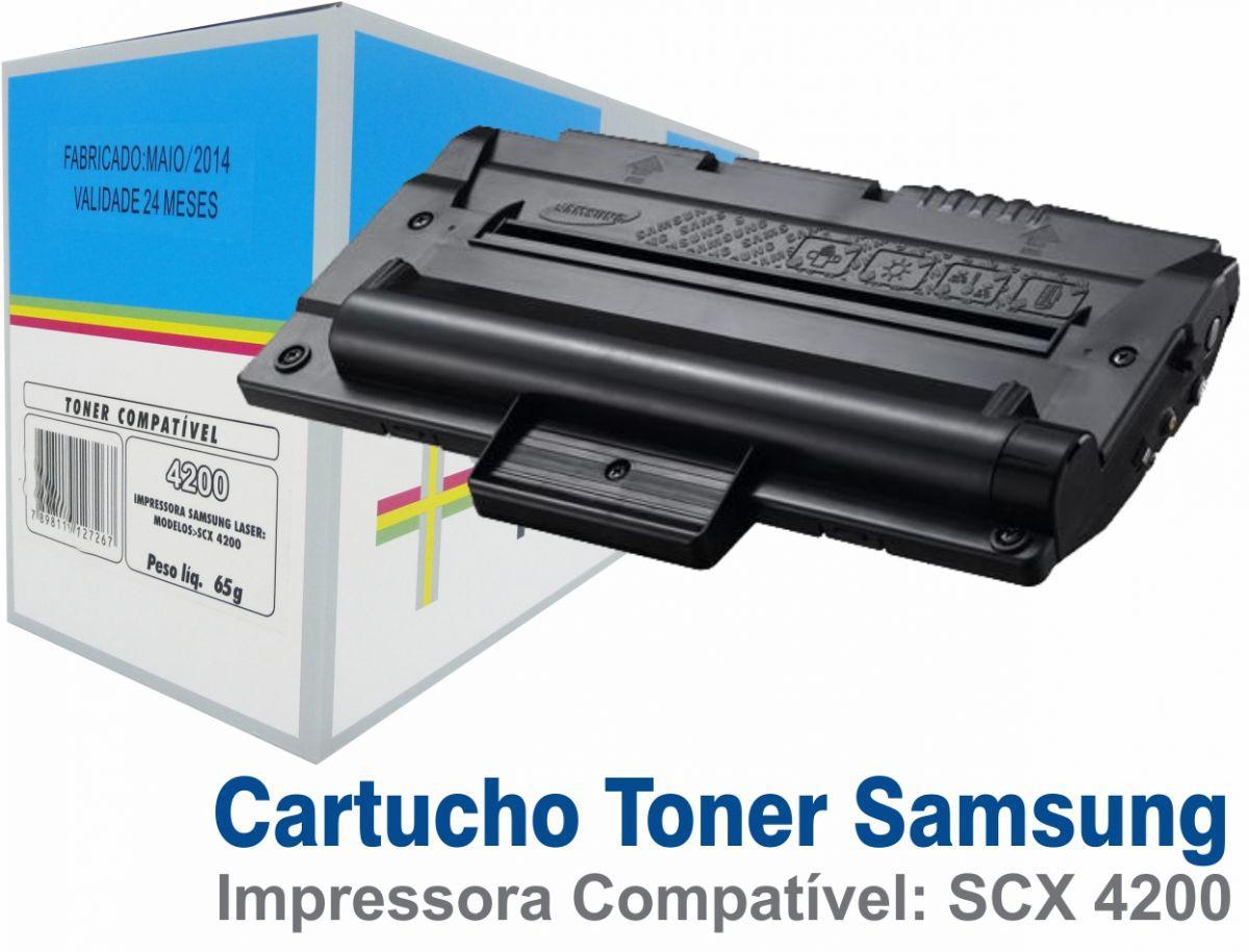 TONER SCX4200 PRETO PARA SAMSUNG SCX-4200