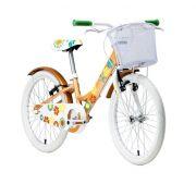 """Bicicleta Groove Mybike 20"""" na cor laranja"""