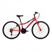 "Bicicleta Groove Ragga 24"" na cor vemelho"