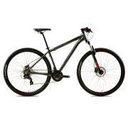Bicicleta Groove Zouk HD 21v na cor Grafite/Preto