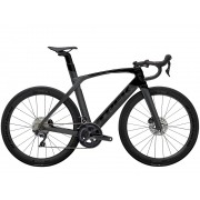Bicicleta Trek Madone SL6 Disco na cor Lithium Grey/Trek Black