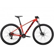Bicicleta Trek Marlin 6 Matte Trek na cor Radioactive Red/Trek Black (lançamento 2021)