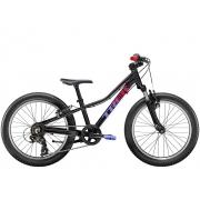 Bicicleta Trek Precaliber 20 de 7 velocidades na cor Voodoo Trek Black