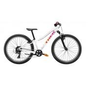Bicicleta Trek Precaliber 24 com 8 velocidades para meninas na cor branco