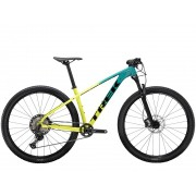 Bicicleta Trek X-caliber 9 na cor Teal/Volt Fade (modelo 2021)