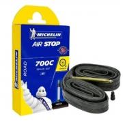 Câmara de Ar Michelin Air Stop 700c com válvula de 52mm