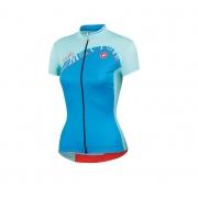 Camisa Castelli Tesoro Feminina na cor azul