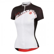 Camisa Castelli Tesoro Feminina na cor Branco e Preto