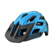 Capacete Polisport E3 na cor azul e preto