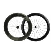 Rodas Session C85/c60 Carbon Clincher (freio no aro)
