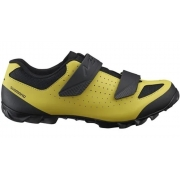 Sapatilha Shimano ME1 para MTB na cor amarelo e preto