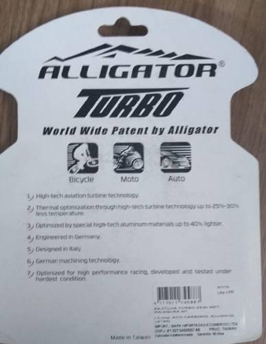 Pastilha De Freio A Disco Alligator Turbo Semi-metálica