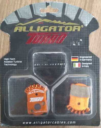 Pastilha De Freio A Disco Alligator Turbo Semi-metálica