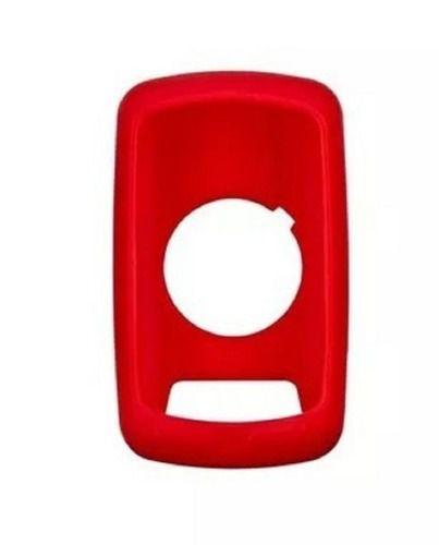 Capa De Silicone Garmin Para Edge 800/810 Na Cor Vermelho