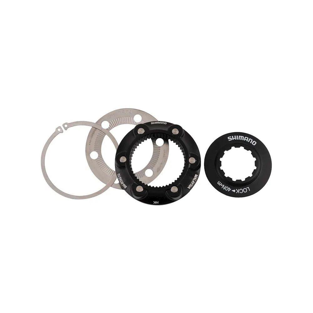 Adaptador Shimano para rotor de 6 parafusos para roda Center Lock