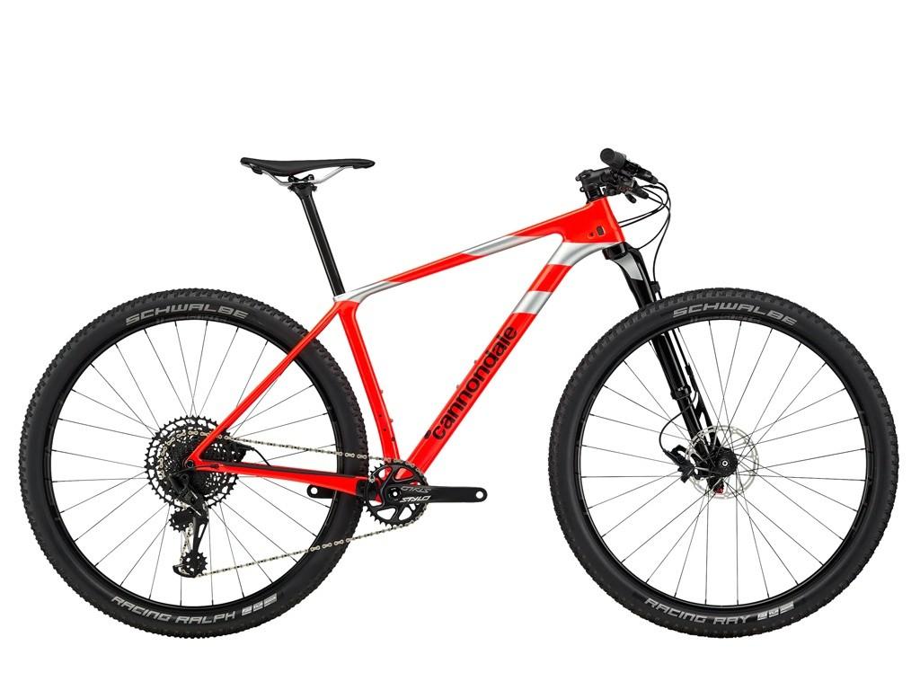 Bicicleta Cannondale F-Si Carbon 3 na cor vermelho