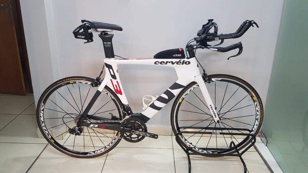 Bicicleta Cervélo P3 Dura-Ace 9000 - Tamanho L (produto usado)