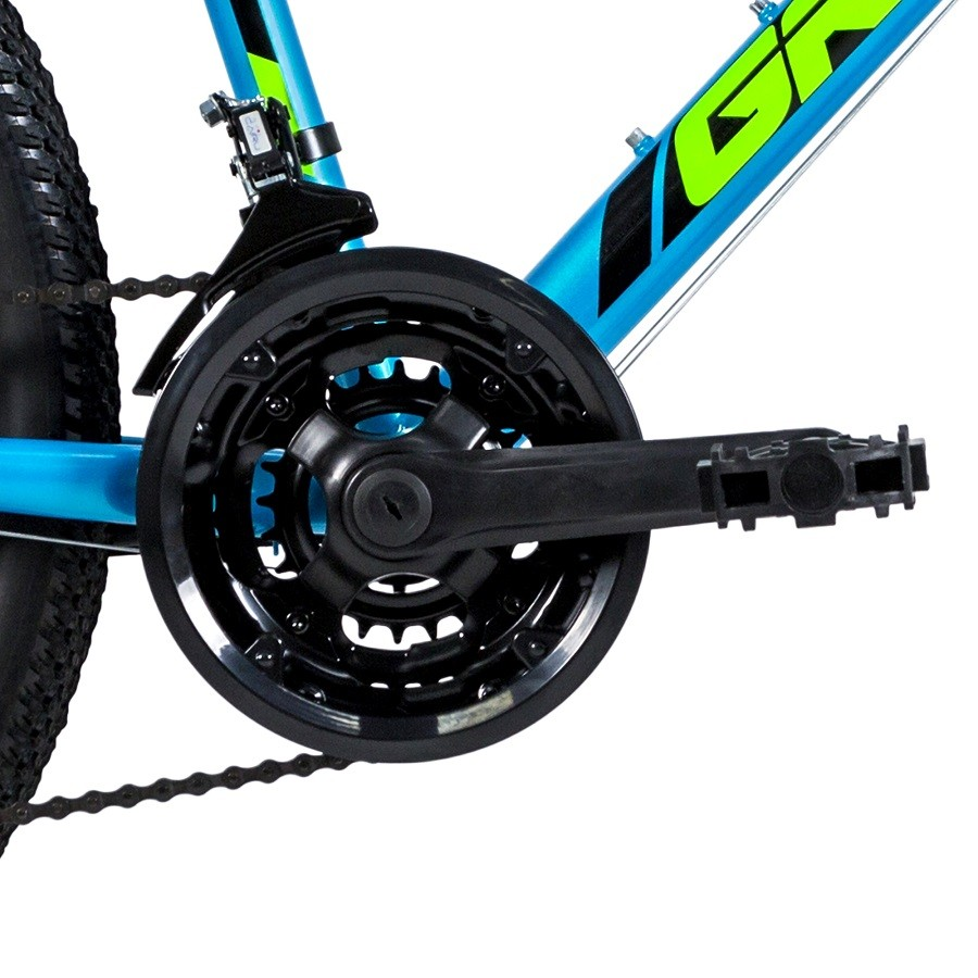 "Bicicleta Groove Ragga 24"" na cor Azul"