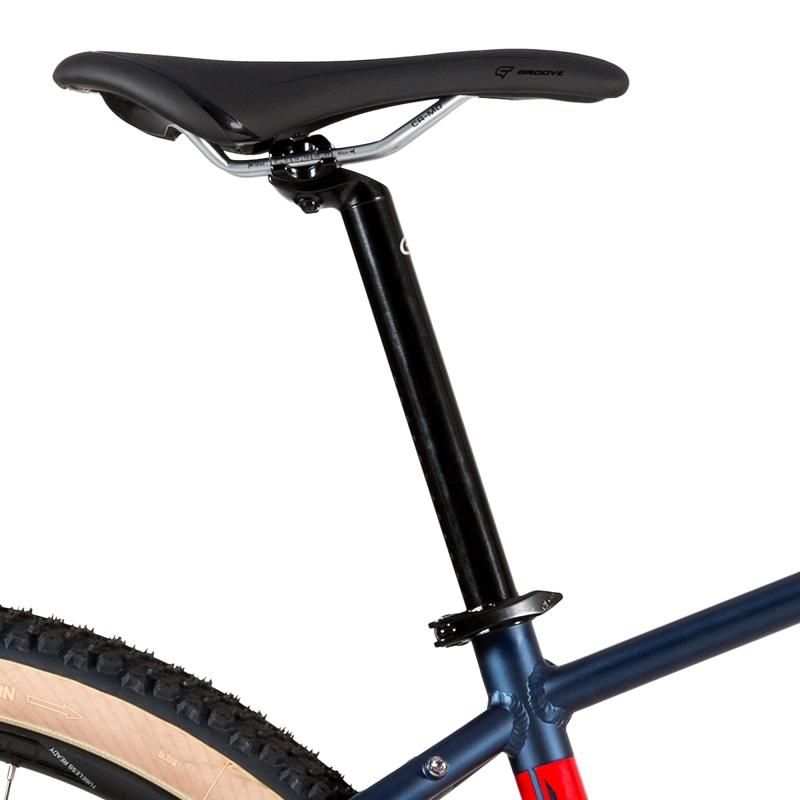 Bicicleta Groove Riff 70 Shimano 12v na cor azul e vermelho