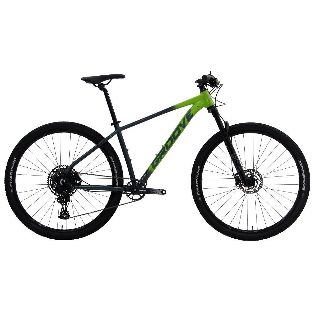 Bicicleta Groove Ska 70.1 Sram 12v na cor Verde Limão/Verde