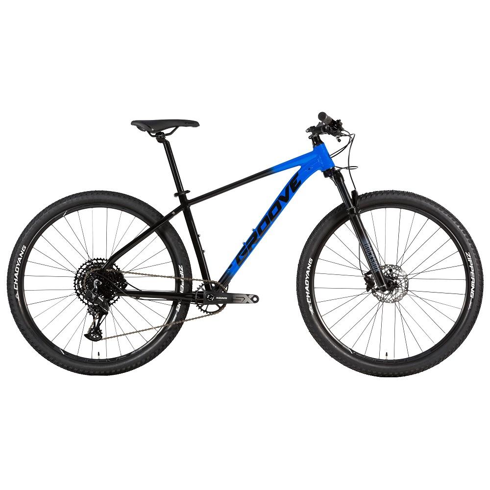 Bicicleta Groove Ska 90.1 Sram 12v na cor Azul e preto