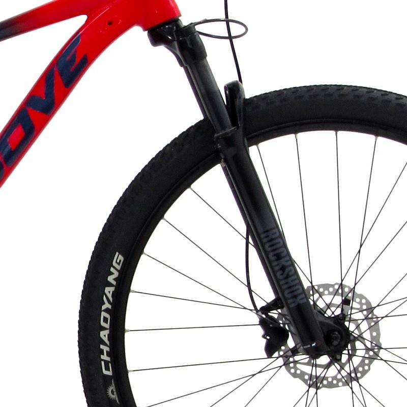 Bicicleta Groove Ska 90.1 Sram 12v na cor Vermelho e azul